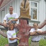 """Harz Mountain Foresters"" bei den Oxfam Trailwalker 2010"